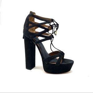 Vero Cuoio Aquazzura Platform Sandals
